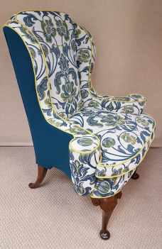 Traditional Winged Armchair